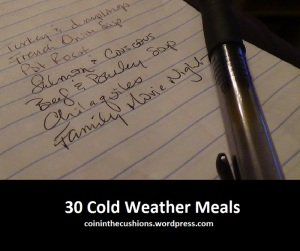 30 Cold Weather Meals